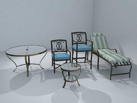 3d outdoor furniture
