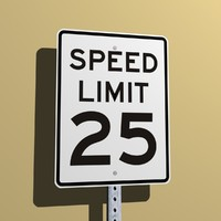Speed Limit 25 MPH