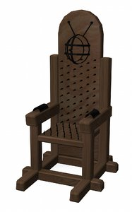 tortural chair 3ds