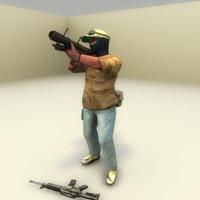 3d terrorist sa-7 grail