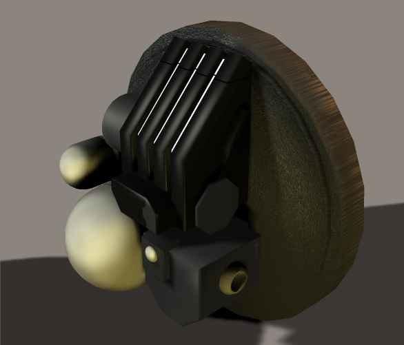 3d lockwood targeting camera security model