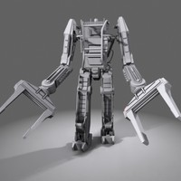 powerloader power loader 3d max