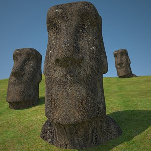 moais easter islands 3ds