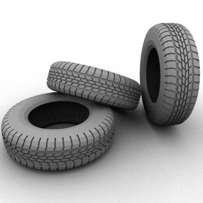 wheel tyre tires 3ds