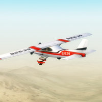 3d light aircraft