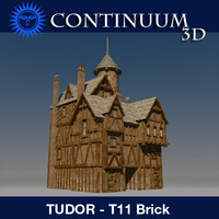 T11 Tudor style medieval building - The Rectory - BRICK