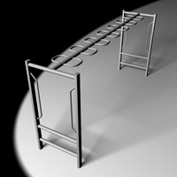3ds max monkey bars playground