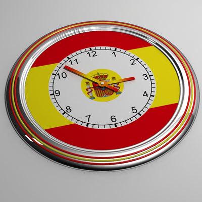 3ds max clock 21 spain