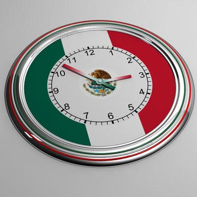 3ds max clock 22 mexico