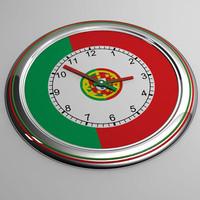 clock 23 portugal 3d model
