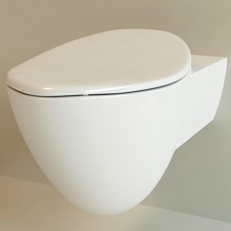 3d toilet flaminia model