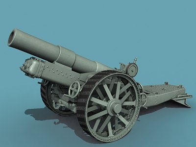 3d british howitzer wwi