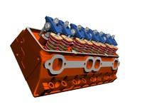 3d 3ds v8 cylinder head