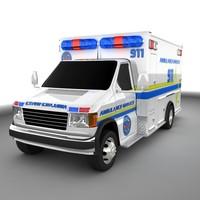 maya ambulance truck