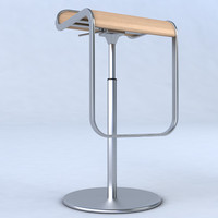 3d model of lem piston stool