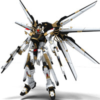 strike freedom 3d model
