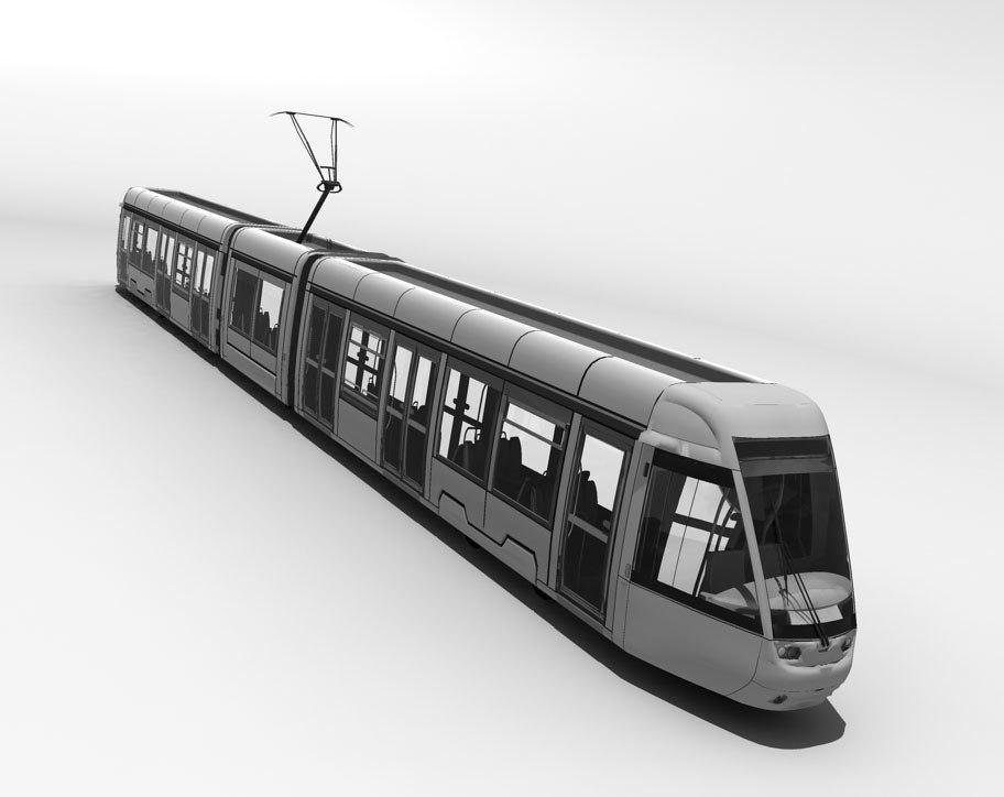 tram 3d max