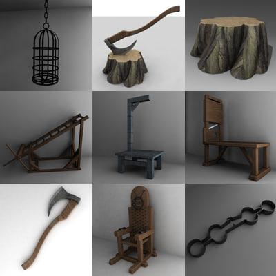 tortural set 3ds