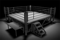 c4d boxing ring