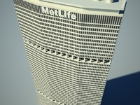 metlife building skyscrapers 3d max