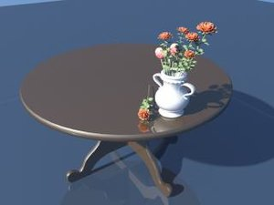 table vase 3d ma
