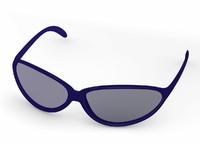 3d model glass sun sunglasses