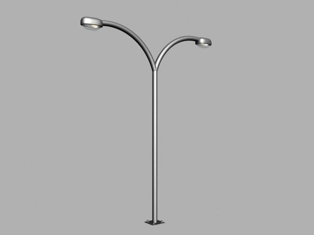 free street light 3d model