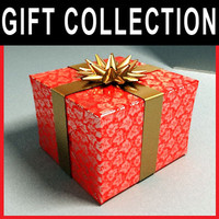 gift pack 3d max