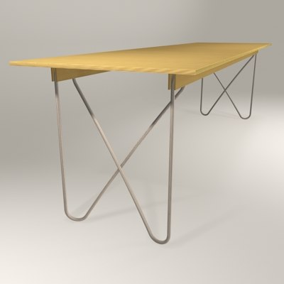 3d herr zock designer table
