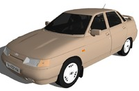 lada 110 vaz 3d model