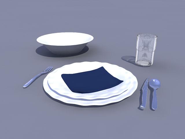 3ds table set