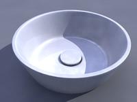 3d model of sink