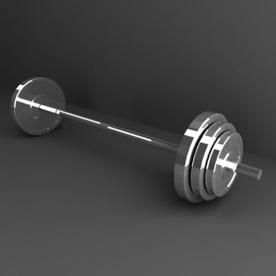 3ds dumbells gym