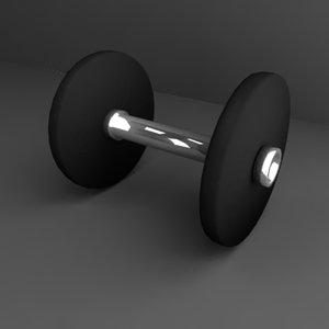 dumbells gym 3d model