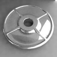 3d dumbell weight model