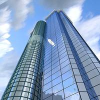 skyscraper building 3ds