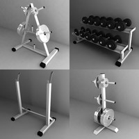 weight holders obj