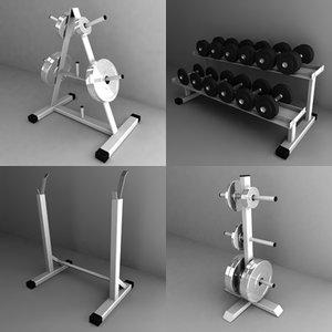 weight holders obj