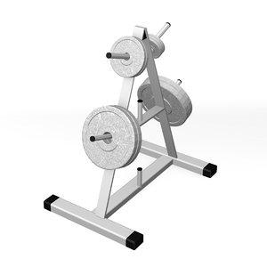 3d weight holder