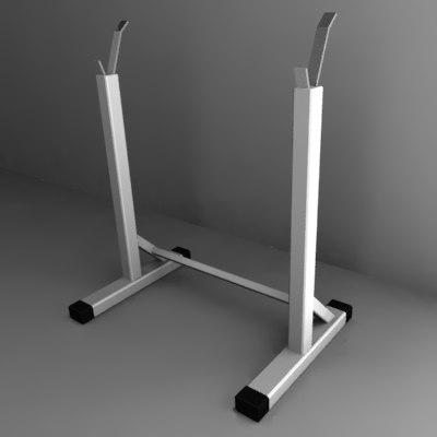 3d weight holder model