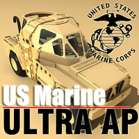 marine corps ultra armored 3d model