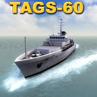 tags-60 pathfinder navy 60 3d model