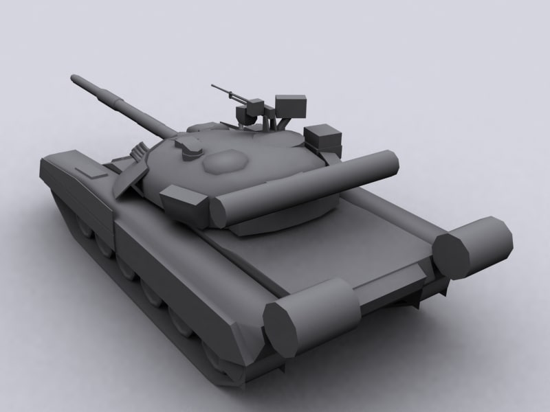 T 80 U Russian Main Battle Tank