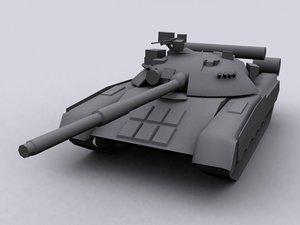3d t80u t 80 u model