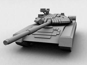 3d max soviet tank