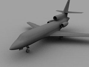 3d falcone jet f 50
