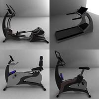 3d cardio bikes model