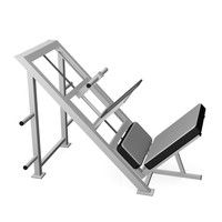 machine leg press dxf