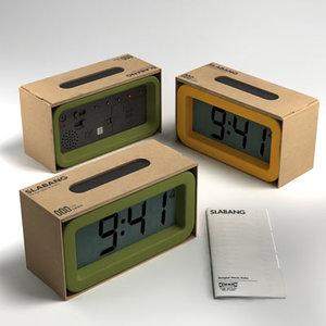 max slabang ikea clock