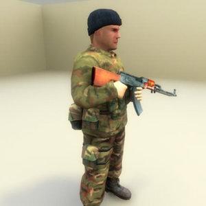 maya russian infantry